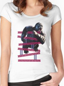 King of the Kongs Women's Fitted Scoop T-Shirt