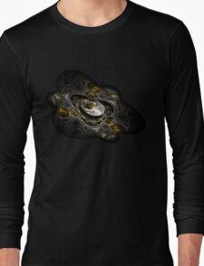 Arcane Locks Abstract Fractal Long Sleeve T-Shirt
