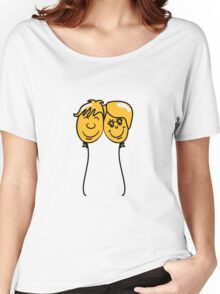 Balloon lovers love Women's Relaxed Fit T-Shirt