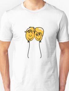 Balloon lovers love Unisex T-Shirt