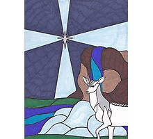 Tarot - The Star - Unicorn Photographic Print