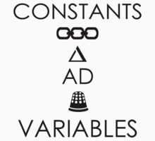 Constants and Variables Bioshock shirt by Canadope