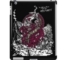 For SHE was Master of this SAVAGE PLANET! iPad Case/Skin