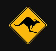 Be Careful Kangaroos! Zipped Hoodie