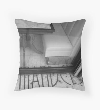 Mandel's Historical Building in Los Angeles, Detail Throw Pillow