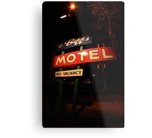 Li'l Biff's Motel Metal Print