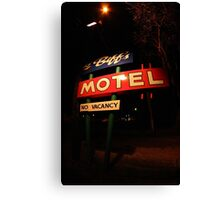 Li'l Biff's Motel Canvas Print