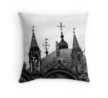 San Marco Roof Throw Pillow