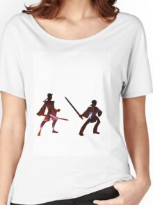 Obi Wan Kenobi VS Anakin Skywalker Women's Relaxed Fit T-Shirt