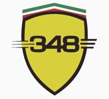 Ferrari 348 / Large Shield / Color by Ferraridude