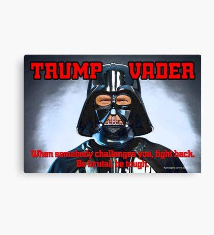TRUMP VADER Canvas Print