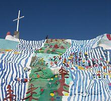 Salvation Mt. RIP Leonard Knight by Arlene Zapata