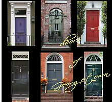 Doors of Georgetown 2 by papierGrace