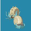 Omanyte Evol by kjharmon3