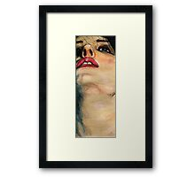 Watercolor Pencil Looking Up Framed Print