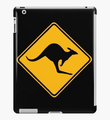 Be Careful Kangaroos! iPad Case/Skin