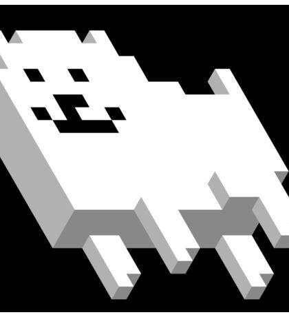 Cute Pixel Dog Sticker