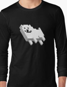 Cute Pixel Dog Long Sleeve T-Shirt