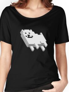 Cute Pixel Dog Women's Relaxed Fit T-Shirt