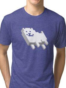 Cute Pixel Dog Tri-blend T-Shirt