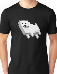 Cute Pixel Dog Unisex T-Shirt