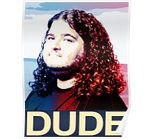 Lost - Hurley (Dude) Poster