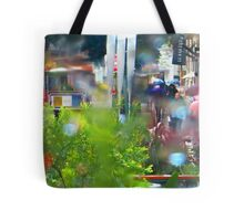 Rainy Powell Street Morning Tote Bag