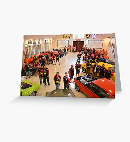 Auto Museum at Aravina Estate Greeting Card