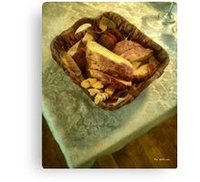 Bakery Basket Canvas Print