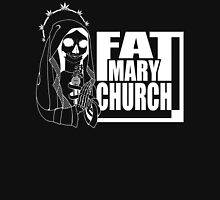 Fat Mary Church - clothing - total white version Unisex T-Shirt