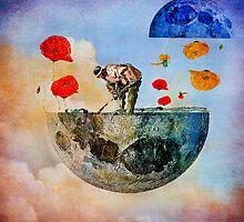 The gardener of the moon by ganechJoe