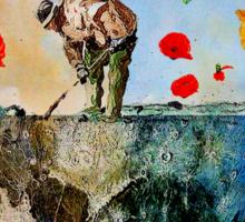 The gardener of the moon Sticker