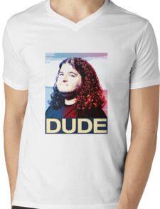 Lost - Hurley (Dude) Mens V-Neck T-Shirt
