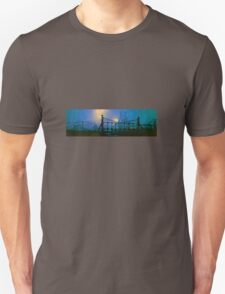 bates pit night BLUE T-Shirt