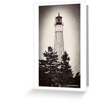 Sturgeon Bay Ship Canal Lighthouse IV Greeting Card