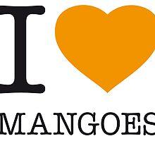 I ♥ MANGOES by eyesblau