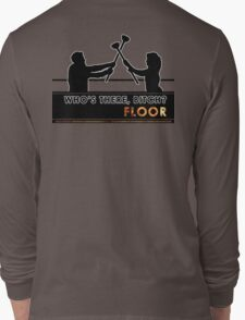 Who's There - FLOOR Long Sleeve T-Shirt