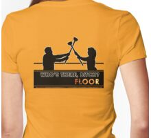 Who's There - FLOOR Womens Fitted T-Shirt