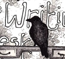 Raven = Writing Desk? Sticker