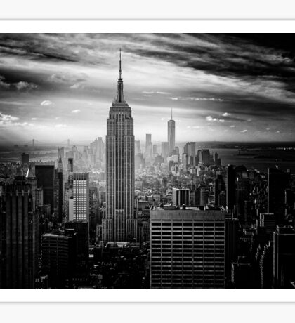 New York City Empire State Building Sticker