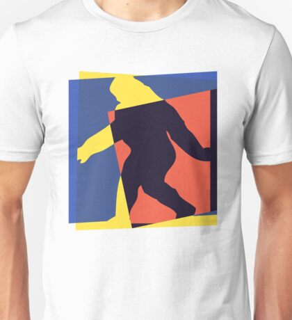 Pop Art Big Foot Unisex T-Shirt