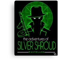 The Adventures of Silver Shroud Canvas Print