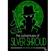 The Adventures of Silver Shroud Photographic Print