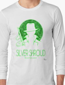 The Adventures of Silver Shroud Long Sleeve T-Shirt