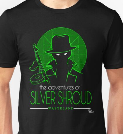 The Adventures of Silver Shroud Unisex T-Shirt
