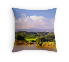 Landscape Puerto Rico Throw Pillow