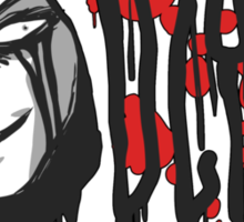 Evil Hood Sticker