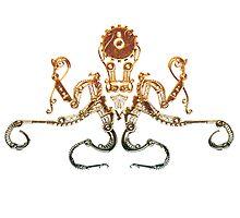 Bronze Steampunk Octopus by Angelaook