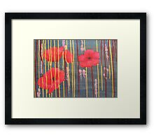 Title. War, Blood, Gold (Not necessarily in that order). Framed Print