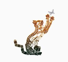 Steampunk Bronze Kitten Unisex T-Shirt